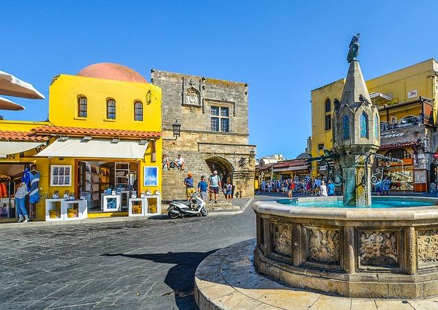 история города и острова Родос